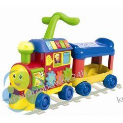 Lokomotywa 3 w1 Rośnij ze Mną. Interaktywna zabawka, pchacz i jeździk Rowery i pojazdy