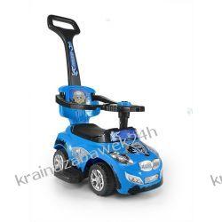 Jeździk Pojazd Happy 3 W 1 Niebieski Rowery i pojazdy