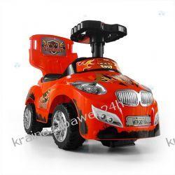 Jeździk Pojazd Happy 3 W 1 Czerwony Rowery i pojazdy