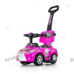 Jeździk Kid 3 W 1 Pink Różowy Rowery i pojazdy