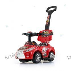 Jeździk Kid 3 W 1 Red Czerwony Rowery i pojazdy