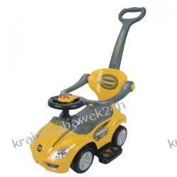 Samochód, Wózek Pojazd 382 - Żółty Rowery i pojazdy
