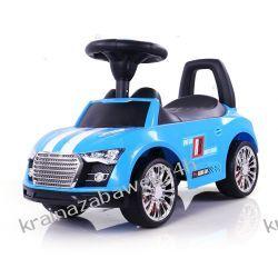 Jeździk Racer Niebieski Rowery i pojazdy