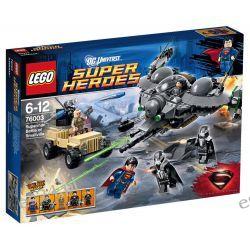 Lego 76003 DC Comics Super Heroes Superman: Bitwa o Smallville Elementy