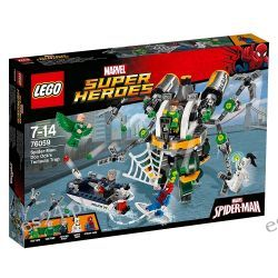 Lego 76059 Marvel Super Heroes Spiderman: Pułapka z mackami Doc Ocka