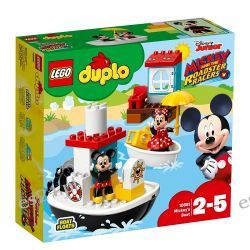 Lego 10881 Duplo Łódka Mikiego