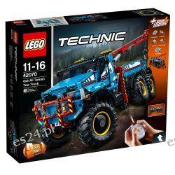 Lego 42070 Technic Terenowy holownik 6x6 Elementy