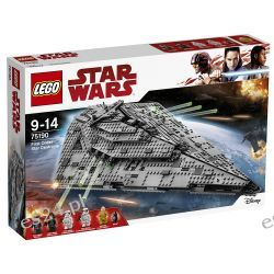 Lego 75190 Star Wars Niszczyciel gwiezdny Najwyższego Porządku Star Wars