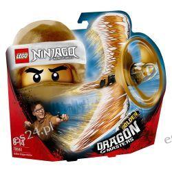 Lego 70644 Ninjago, Action Toy, Złoty Smoczy Mistrz