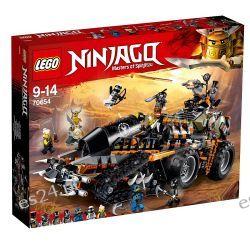 Lego 70654 Ninjago, Dieselnauta Dla Dzieci