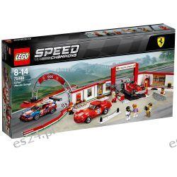 Lego 75889 Speed Champions Rewelacyjny warsztat Ferrari