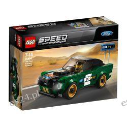 Lego 75884 Speed Champions Ford Mustang Fastback 1968 Dla Dzieci