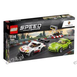 Lego 75888 Speed Champions Porsche 911 RSR i 911 Turbo 3.0 Dla Dzieci