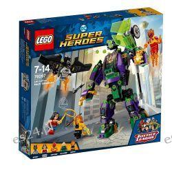 Lego 76097 DC Super Heroes Starcie z mechem Lexa Luthora Dla Dzieci
