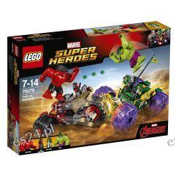 Lego 76078 Marvel Super Heroes Hulk kontra Czerwony Hulk Dla Dzieci