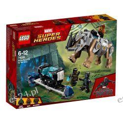 Lego 76099 Marvel Super Heroes Pojedynek z nosorożcem w pobliżu kopalni Dla Dzieci