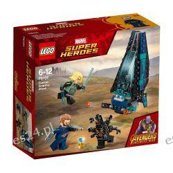 Lego 76101 Marvel Super Heroes, Atak statku Outriderów