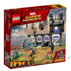 Lego 76103 Marvel Super Heroes Atak Corvusa Glaive'a Elementy