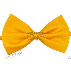 Muszka męska / dziecięca MS - żółta Odzież, Obuwie, Dodatki