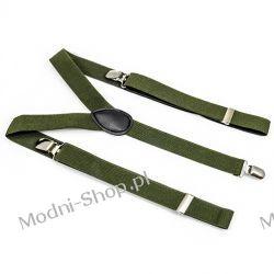 Szelki do spodni CLASSIC 2,5 cm - KHAKI