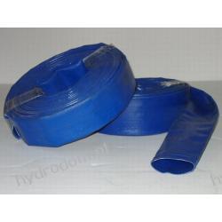 """Wąż PVC 52 mm (2"""") niebieski 3 BAR MEGAFLAT  Szamba i oczyszczalnie"""