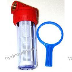 """Filtr wody AQUA 1 1/4"""" z wkładem siatkowym + klucz"""