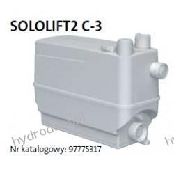 Przepompownia SOLOLIFT 2 C-3 GRUNDFOS Pompy i hydrofory