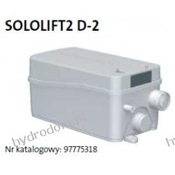 Przepompownia SOLOLIFT 2 D-2 GRUNDFOS Pompy i filtry