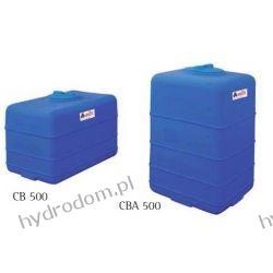 CBA 500 Zbiornik polietylenowy ELBI  Węże i zraszacze
