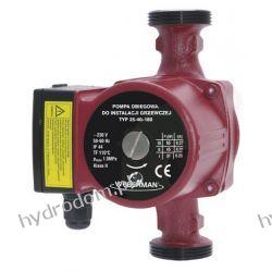 Pompa obiegowa WEBERMAN 25-40 /180 mm 3 biegowa 230V zamiennik UPS 25-40  Pompy i hydrofory