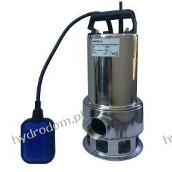 Pompa zatapialna CSP 1100 INOX 230V z wyłącznikiem pływakowym 250L 11m kabel 10m  Szamba i oczyszczalnie