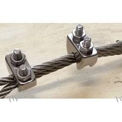 Zacisk liny Ø 3 mm kwasoodporny A4 AISI316  Pompy i hydrofory