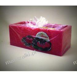 "Duży lampion "" Chocolate & Cherry"" kolor bordo *4803 Kalendarzyki"