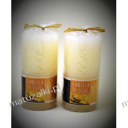 Dwie świece zapachowe VANILLA de LUXE *4805 Kadzidełka i olejki