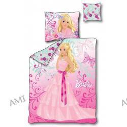 Pościel Barbie świecąca w ciemności 160 x 200 cm 3 części 7630