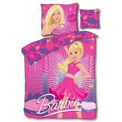 Pościel Barbie świecąca w ciemności 160 x 200 cm 3 części 7616