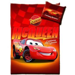 Pościel Cars Auta McQueen 160 x 200 100% bawełna 0267