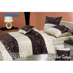 Pościel GRENO 5 części satyna bawełniana Subtelna Secesja 160 x 200 cm