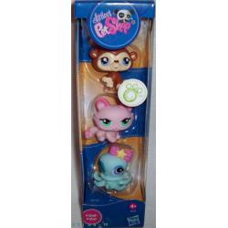 Littlest Pet Shop 3 figurki w tubie z ośmiornicą