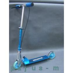 Świetna HULAJNOGA Scoot-it aluminiowa z 2 hamulcami