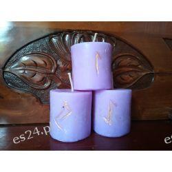 Szamańskie świece intencyjne / fioletowa /  Pozostałe