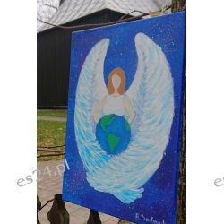 Obraz Energetyczny Anioł Płodności 25/35cm Rękodzieło