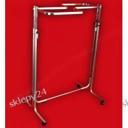 STOJAK DWUSTRONNY L - 100/góra z owalu - srebrny Akcesoria  krawieckie