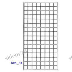Krata Sklepowa 120x65 cm - srebrna