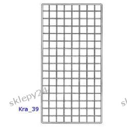 Krata Sklepowa 190x75 cm - srebrna