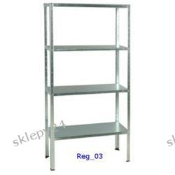 Regał Handlowy - Standard 150/75/30 - biały