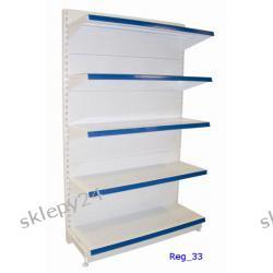 Segment regałowy blaszany 120/200 cm z 5 półkami