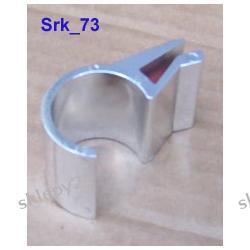 Uchwyt do szkła lub płyty - metalizowany