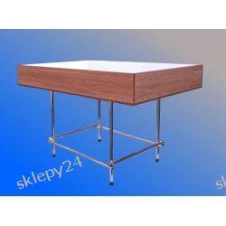 Duży Stół Wyprzedażowy - 150x95x95