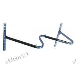 Poprzeczka typu ZYGZAK - chrom - 110 cm
